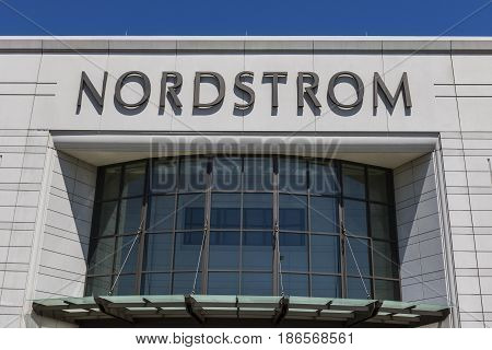 Cincinnati - Circa May 2017: Nordstrom Retail Mall Location. Nordstrom is Known for its Service and Fashion V