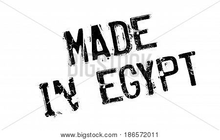 Made In Egypt rubber stamp. Grunge design with dust scratches. Effects can be easily removed for a clean, crisp look. Color is easily changed.