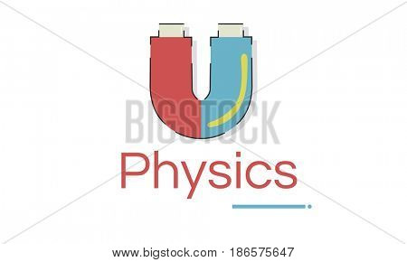 Illustration of science physics magnetic