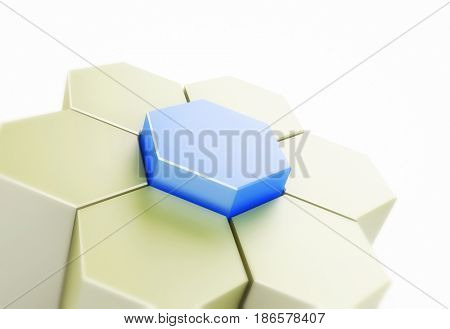 Abstract figure which can be used as a design element
