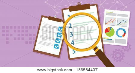 priority list task to do schedule vector illustration