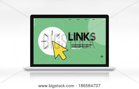 Browse links mouse pointer cursor icon