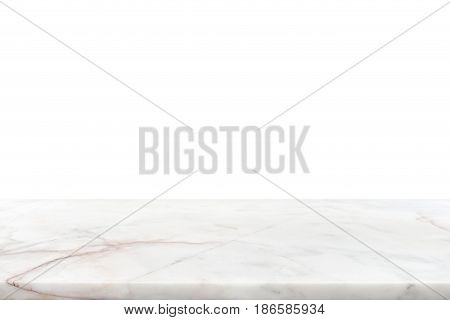 White marble stone countertop - can be used for display or montage your products