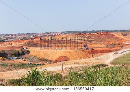 Industrial Construction Landscape