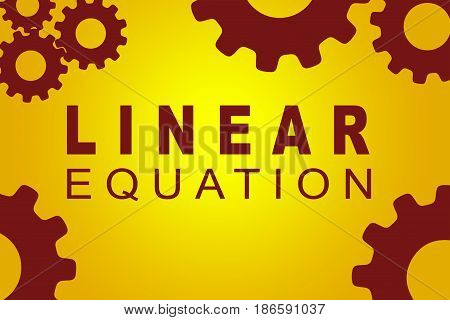 Linear Equation Concept