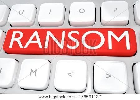 Ransom - Criminal Concept