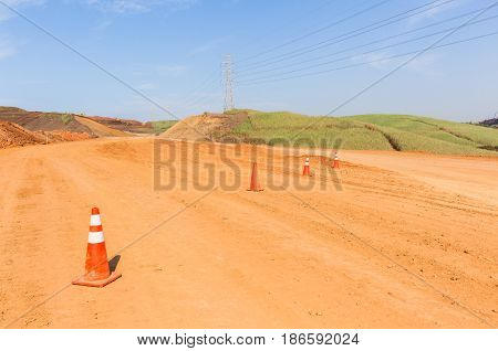 Construction Roads Earthworks Landscape