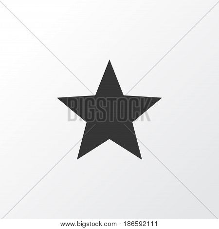 Favorite Icon Symbol. Premium Quality Isolated Star Element In Trendy Style.