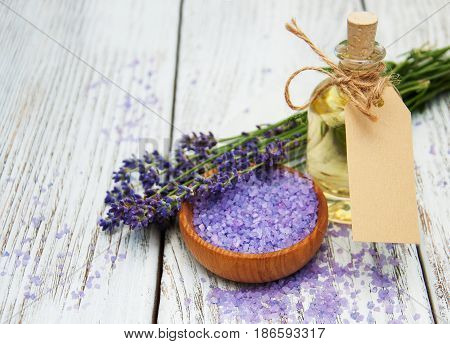 Lavender With Oil