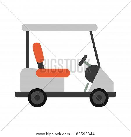cart golf related icon image vector illustration design