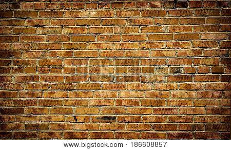 Brick wall. Brick texture. Old brick wall. Rough brick wall. Grunge brick. Brick background. Brick