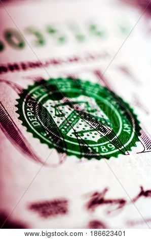 One Dollar Bill - Macro Nb. 39