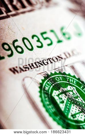 One Dollar Bill - Macro Nb. 40