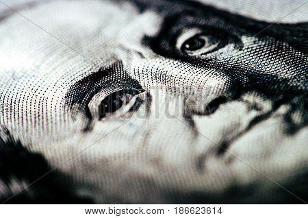 Hundred Dollar Bill - Macro Nb. 15
