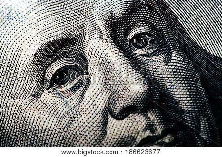 Hundred Dollar Bill - Macro Nb. 16