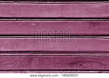 Pink Color Wood Wall Pattern.