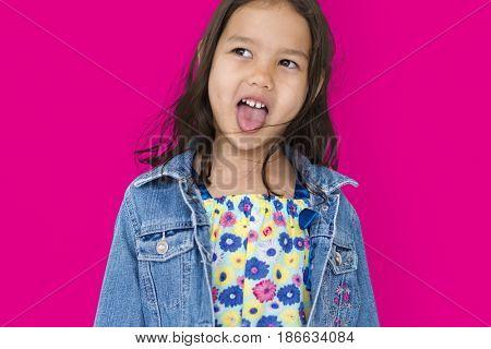 Studio People Kid Shoot Childhood Girl
