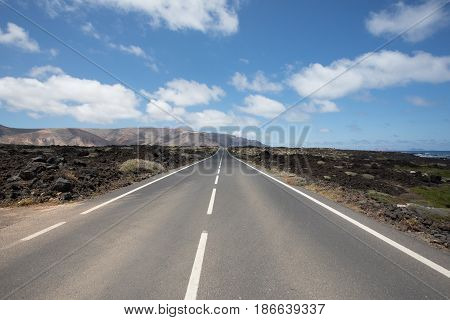 Nothing Wrong With The Roads On Lanzarote.