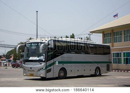 Sunlong Bus Of Greenbus Company. Route Between Chiangmai And Chiangsaen