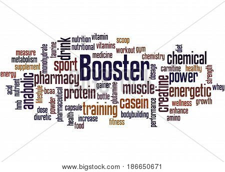 Booster, Word Cloud Concept 2