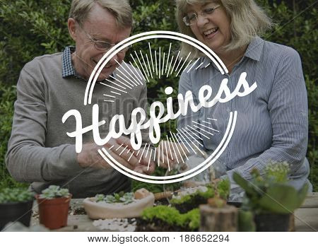 Couple Happiness Precious Moment Togetherness Love Word Graphic