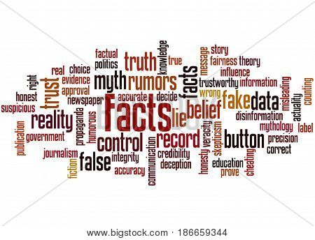 Facts, Word Cloud Concept 4