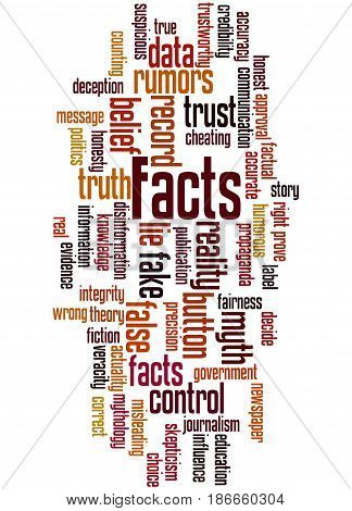 Facts, Word Cloud Concept 5