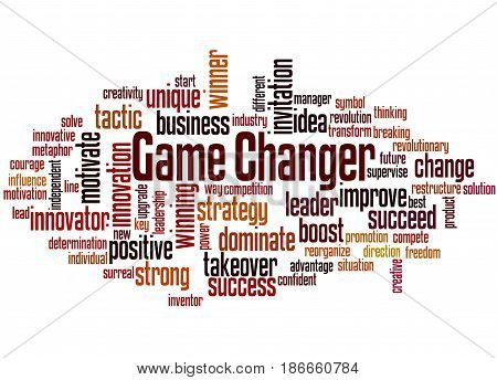 Game Changer, Word Cloud Concept