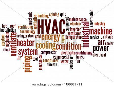 Hvac, Word Cloud Concept