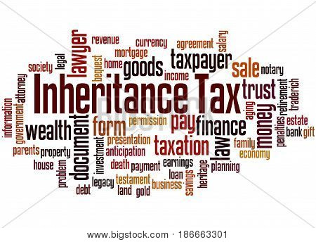 Inheritance Tax, Word Cloud Concept 5