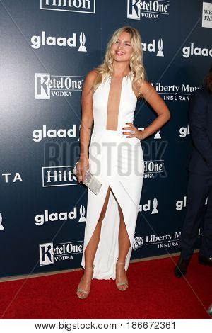 LOS ANGELES - APR 1:  Jennifer Akerman at the 28th Annual GLAAD Media Awards at Beverly Hilton Hotel on April 1, 2017 in Beverly Hills, CA