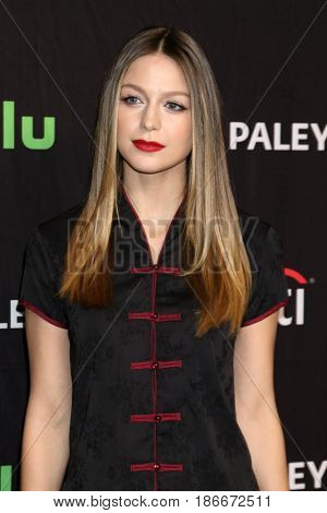 LOS ANGELES - MAR 18:  Melissa Benoist at the 34th Annual PaleyFest Los Angeles - The CW at Dolby Theater on March 18, 2017 in Los Angeles, CA