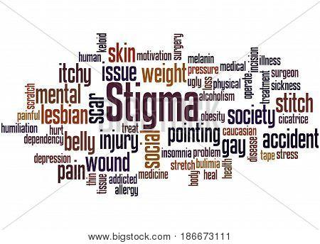 Stigma, Word Cloud Concept 3