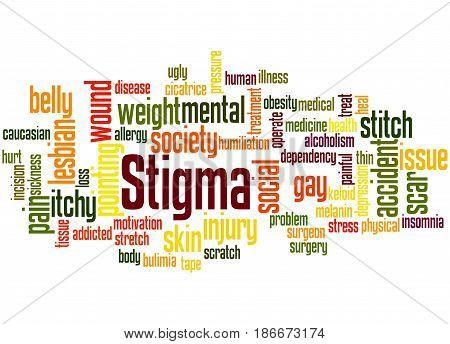 Stigma, Word Cloud Concept 4