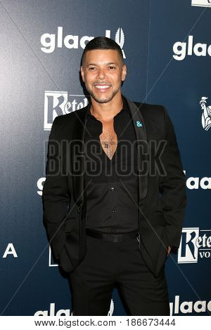 LOS ANGELES - APR 1:  Wilson Cruz at the 28th Annual GLAAD Media Awards at Beverly Hilton Hotel on April 1, 2017 in Beverly Hills, CA