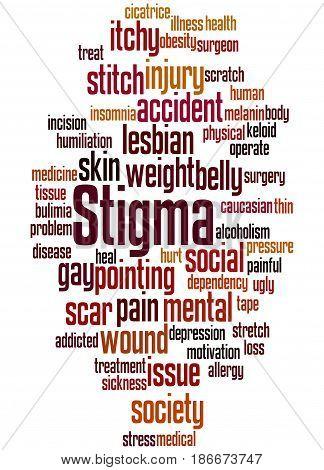 Stigma, Word Cloud Concept 8