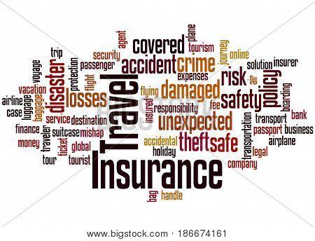 Travel Insurance, Word Cloud Concept 2
