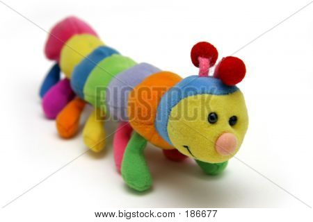Child's Caterpillar Soft-toy