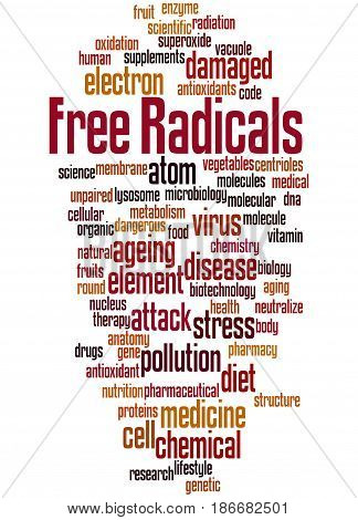 Free Radicals, Word Cloud Concept 6