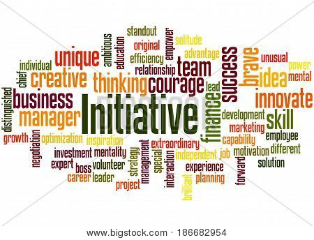 Initiative, Word Cloud Concept 3