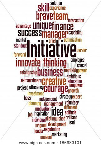Initiative, Word Cloud Concept 4