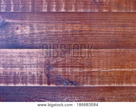 Background from old ship's pine wood boards. Wood texture. Wood wall for text and background