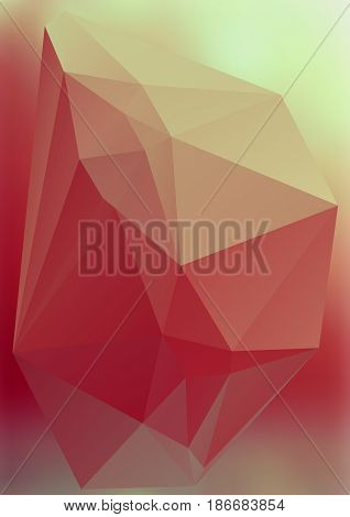 Modern Abstract Background Triangles 3D Effect Glowing Light21
