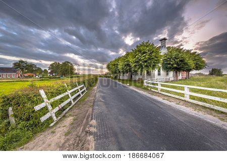 Countryside At Aduarderzijl