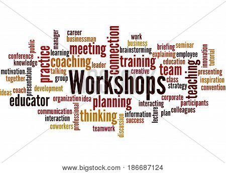 Workshops, Word Cloud Concept 8