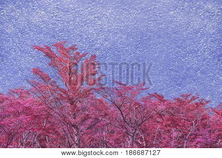 Artistic Nature Theme Background