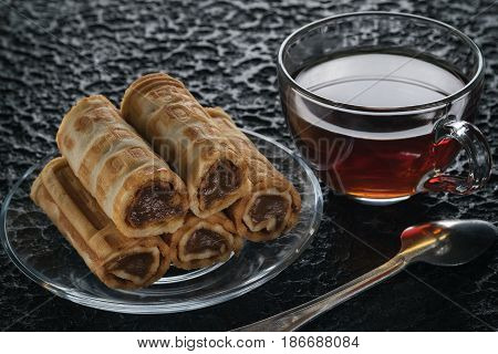 Tubules With Condensed Milk