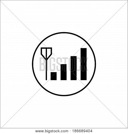 Mobile signal solid icon, mobile sign and network pictogram, vector graphics, a filled pattern on a white background, eps 10.
