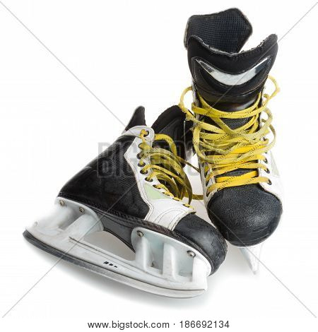 Hockey skates gear protecting isolated protective equipment