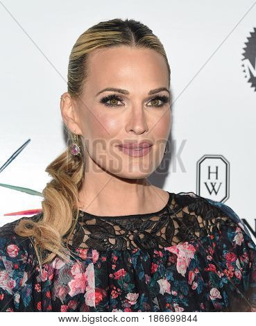 LOS ANGELES - MAY 06:  Molly Sims arrives for the Kaleidoscope 5 on May 6, 2017 in Culver City, CA